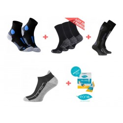 Pack chaussettes multisport...