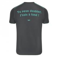 """Tee-Shirt Technique respirant """"Tu peux doubler"""""""